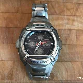 Casio Watch G Steel