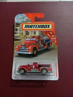 CPL - seagrave fire engine matchbox