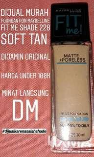 Maybelline Fit Me Foundation (SOFT TAN)