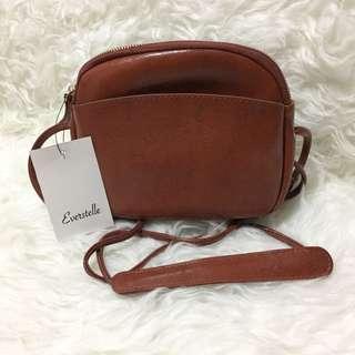 Everstelle Brown Sling Bag