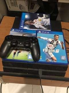 Playstation 4 Fat 500GB Preloved