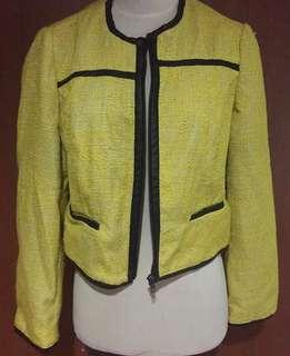 Blazer Yellow Tweed