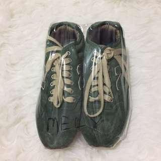 New Balance Green Sneakers Shoes