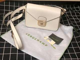 Longchamp Camera Bag (White)