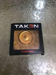 Taken 3 (3 Coasters)
