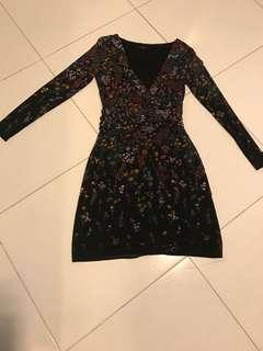 European flower dress
