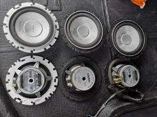 used speaker from halfcut
