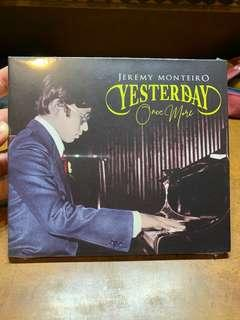 """🚚 Jeremy Monteiro CD """"Yesterday Once More"""""""
