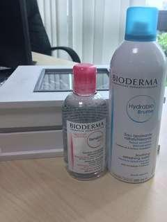 (New) Bioderma Sensibio H2O & Hydrabio Brume
