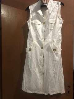 Midi dress & ikat pinggang
