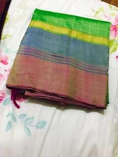 Saree material