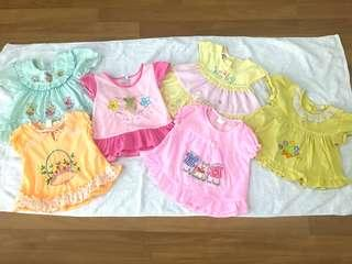 1 set Dresses for Baby Girl(1-2 years)