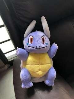 pokemon wartotle plush