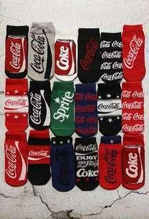 🚚 Drink Brands Socks (Coke, Coca-cola, Sprite, etc.)