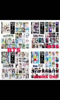 🚚 WTS BTS WANNA ONE LOMO PACKET(preorder )