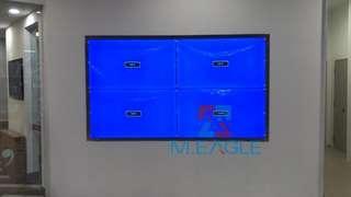 🚚 LCD video wall / TV wall