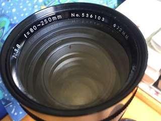 Tamron 80~250mmF3.8