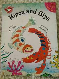 Hipon and Biya (Filipino and English) book