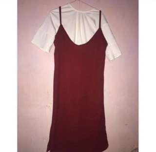 Red dress one set