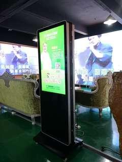 🚚 Touchscreen digital signage