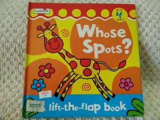 Whose Spots? Lift-the-flap book