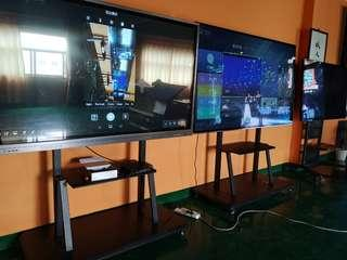 Conference meeting touchscreen LED display