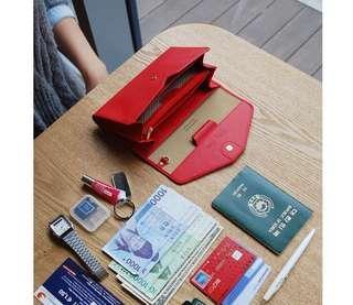 🚚 🎉免運費再送小禮品喔🎁可議價!「韓國Plepic」Holiday Clutch護照證件卡包 錢包 手拿包