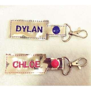 Keychain embroidery