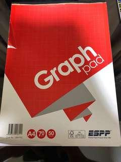 Graph paper for mathematics