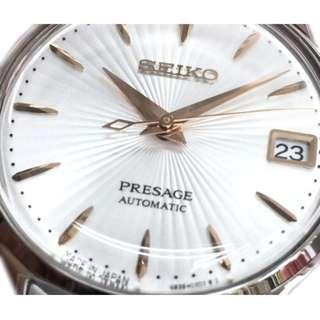 🚚 Seiko SRP855J1 SRP855J SRP855 Automatic Presage Stainless Steel Ladies Watch