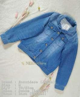 Sorridere Blue Denim Jacket