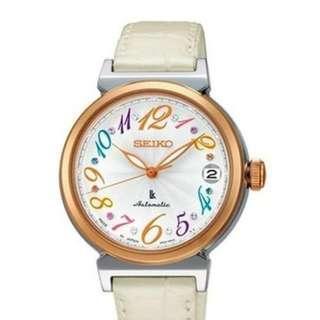 🚚 Seiko SRP864J1 SRP864J SRP864 Women's Leather Strap Watch