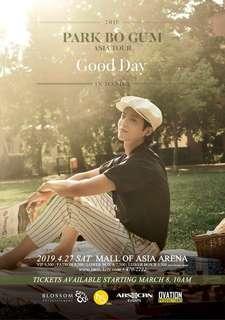 Park Bo Gum Fan Meet Patron Ticket