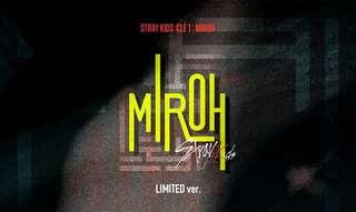[LOOSE ITEMS] Stray Kids Clé 1 : Miroh Preorder