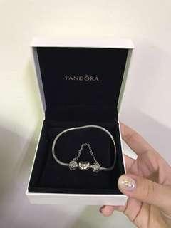 🚚 Pandora蛇鏈+安全鍊