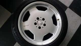 "Mercedes Original 18"" AMG Rims"
