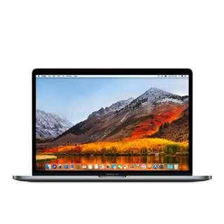 Kredit Apple Macbook Pro MR932 15in 16/256GB Touch Bar