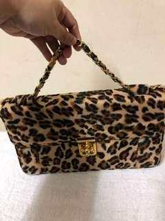 Leopard Print Fashion Bag