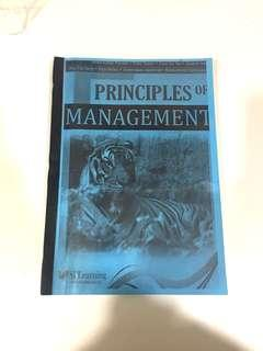 Principle of Management Textbook (Photocopy Version)