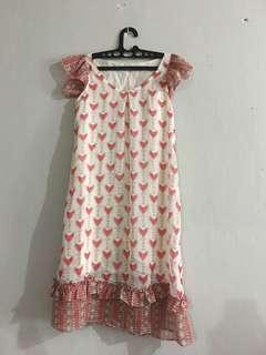 red in love dress