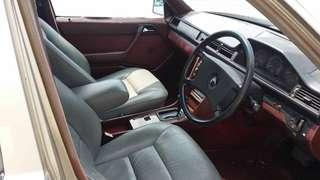 W124 Leather seat Front & back
