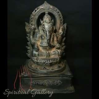 Patung Perunggu Dewa Ganesha Antik