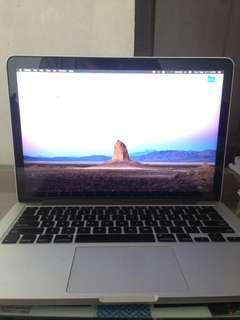 Macbook PRO Retina Display 13 inch (early 2015)