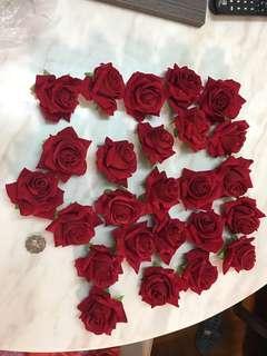 結婚 花 裝飾 21 朵玫瑰