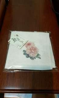 🚚 無染花卉方巾