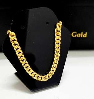 916 Gold Necklace instock march 2019