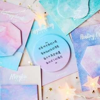 🚚 [PO] Watercolour sticky note