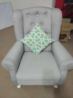 Custom Made Arm Chair 2pcs