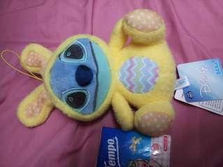 Stitch cross over Easter rabbit