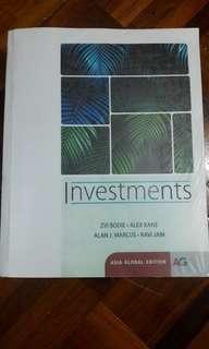 Investment textbook (photocopy)